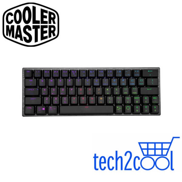 Cooler Master SK622 Space Gray 60% Red Switch Wireless Mechanical Gaming Keyboard Singapore
