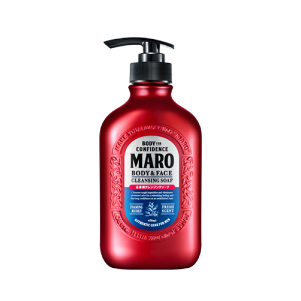 Buy Maro Body & Face Cleansing Soap 450ml Singapore