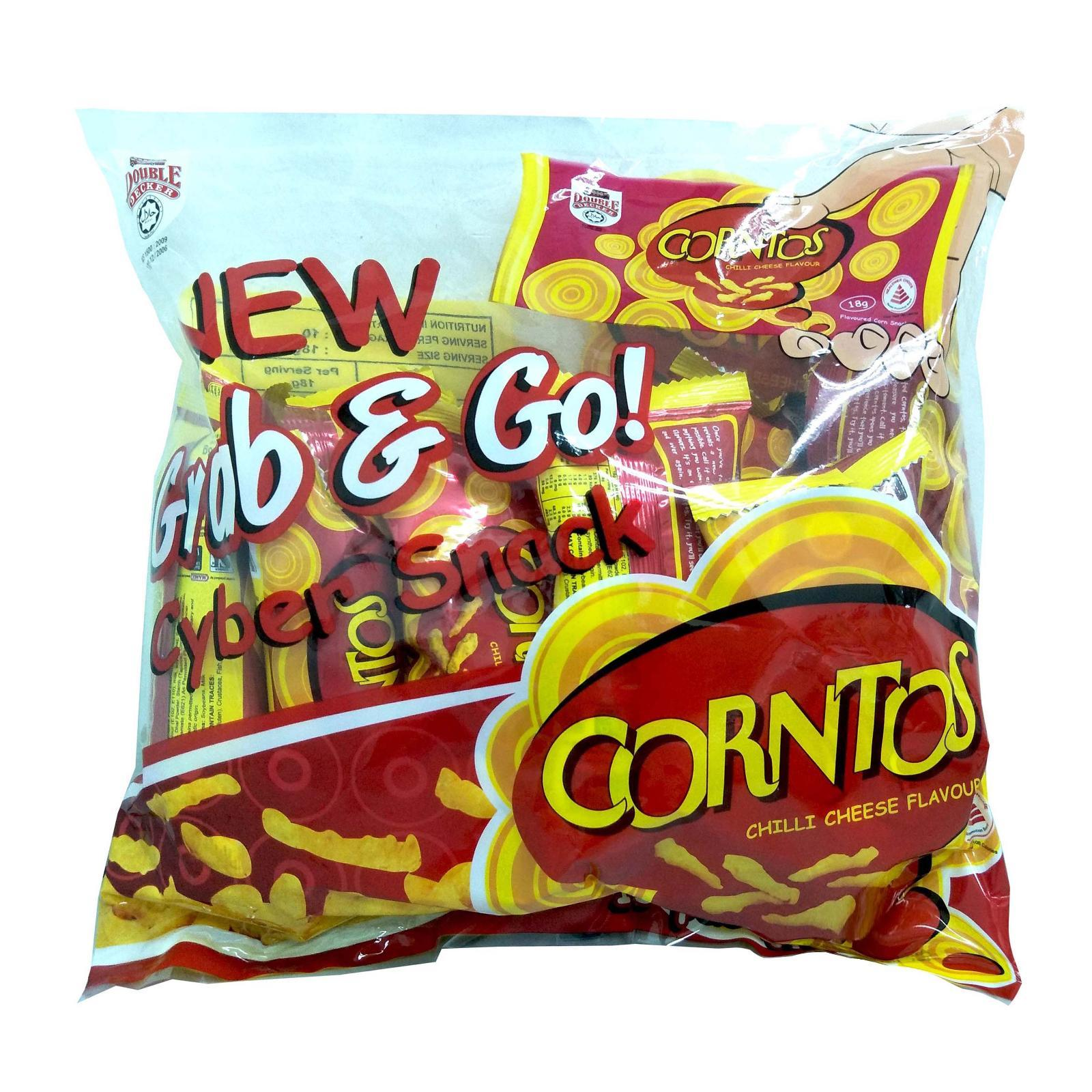Corntos Chilli Cheese Flavour Corn Snack