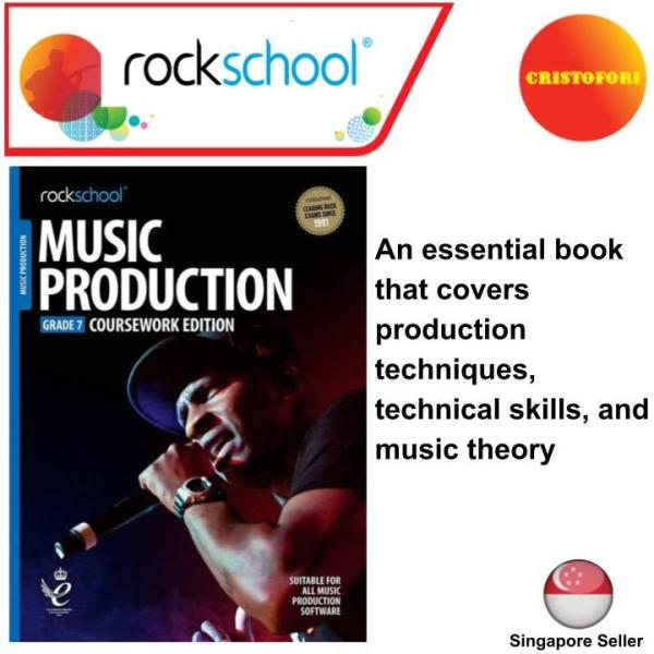 Rockschool Music Production - GRADE 7 Coursework Edition (2019+ New Syllabus Book)