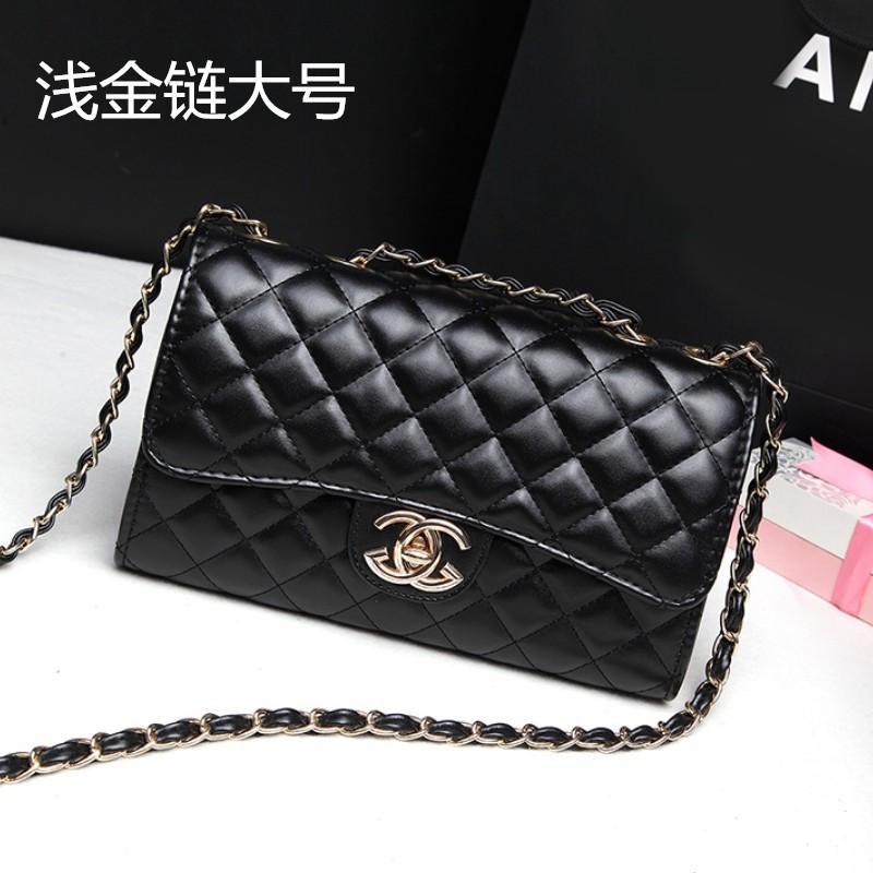 Womens Bag 2019 New Style Summer Rhombic Rhombus Chain Bag Hot Mom Package Crossbody Bag Versatile Graceful Bags