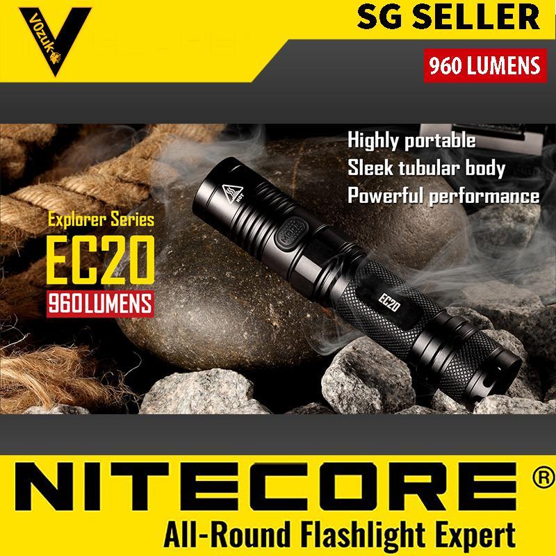 NITECORE WATERPROOF LED FLASHLIGHT MILITARY GRADE 960 LUMEN