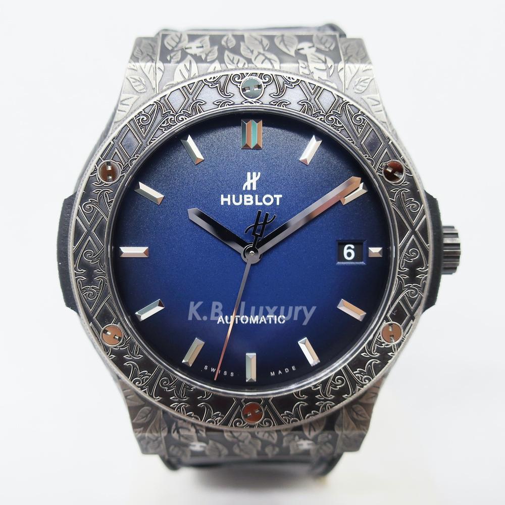 Hublot Classic Fusion Fuente Limited Edition, 45 mm Watch (Titanium)