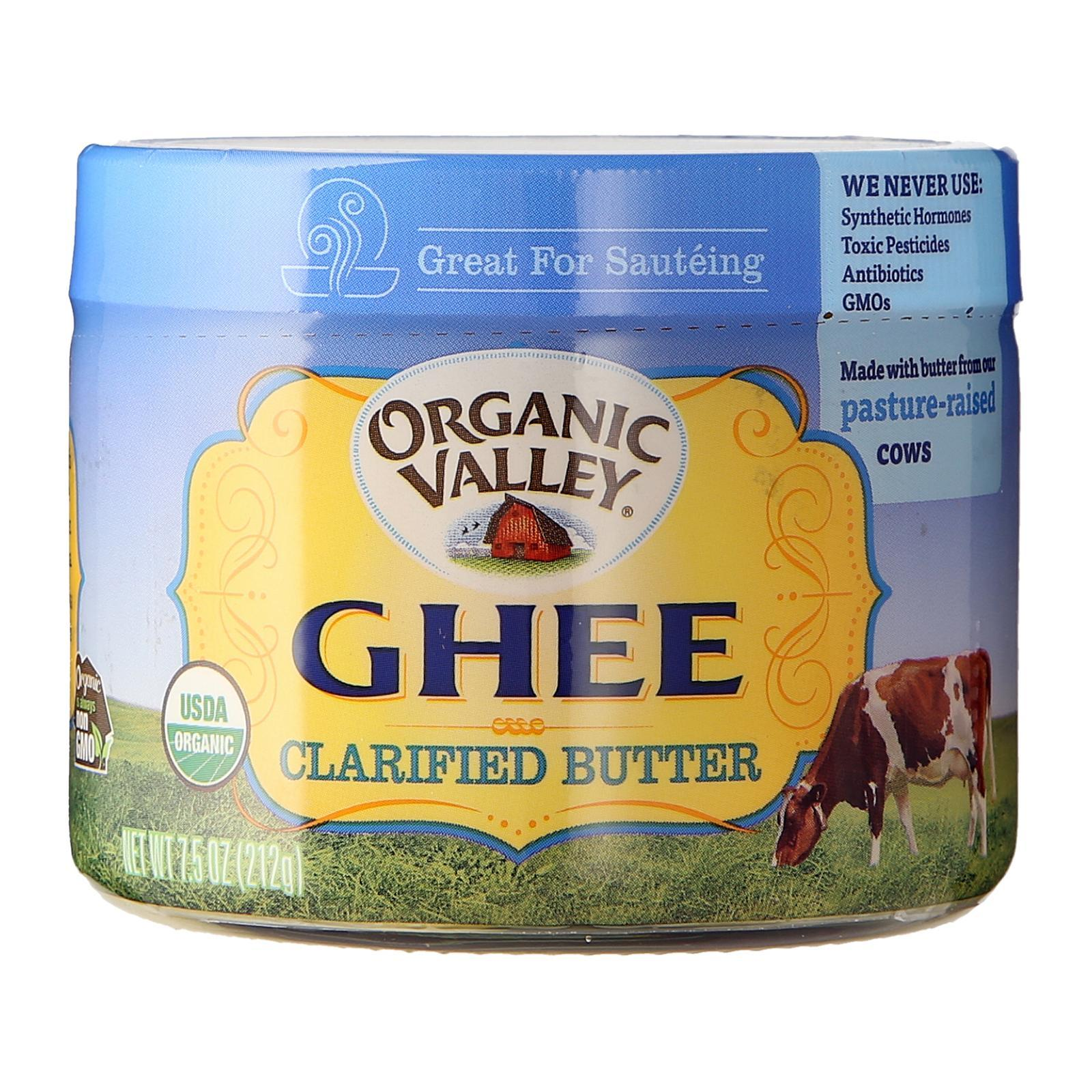 Organic Valley Purity Farms Organic Ghee Clarified Butter 7.5 Oz - By Wholesome Harvest