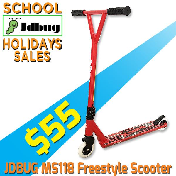 Jdbug Ms118-4y Freestyle Scooter (red) By Trimen Ventures Pte Ltd.