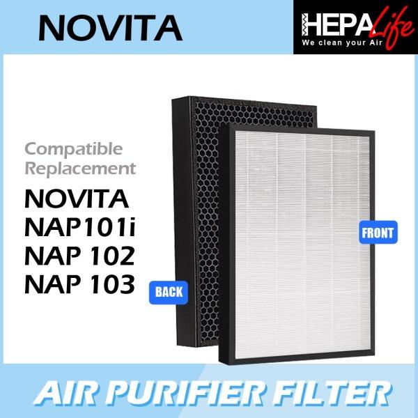 NOVITA NAP101i NAP102 NAP103 Compatible Hepa Filter - Hepalife Singapore