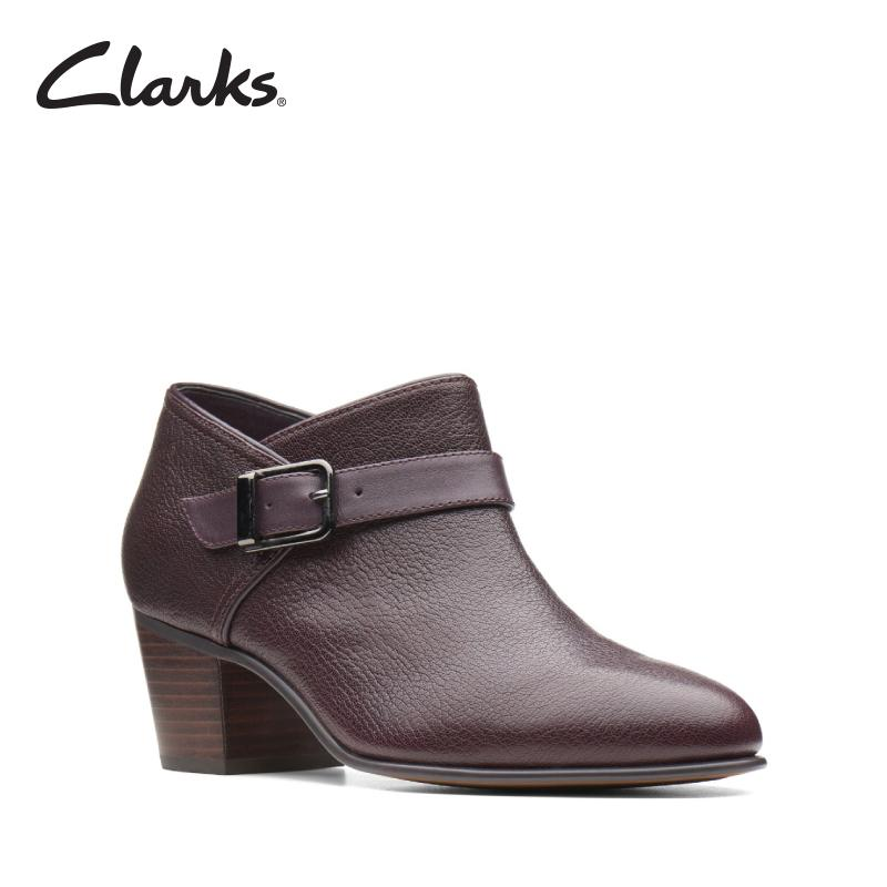 Clarks Maypearl Milla Aubergine Lea Womens Casual Boots Clarks Artisan By Clarks Official Store.
