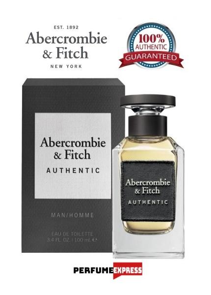 Buy Abercrombie & Fitch (A&F) Authentic Homme Eau De Toilette Spray for Men 3.4 FL. OZ. 100ml [100% Authentic   Brand New Perfume] Singapore