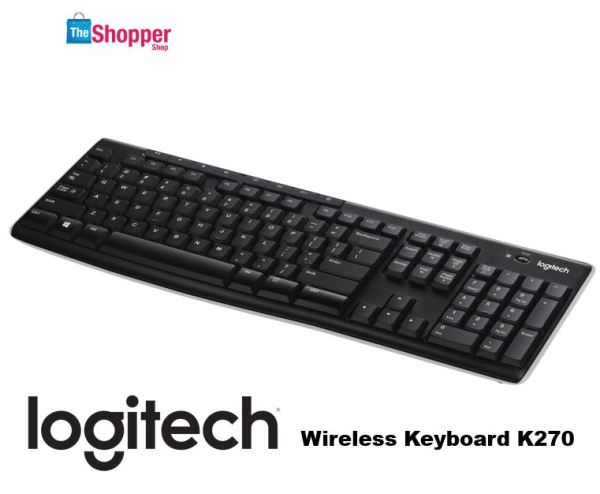 Logitech K270 Wireless Keyboard With Unifying Singapore