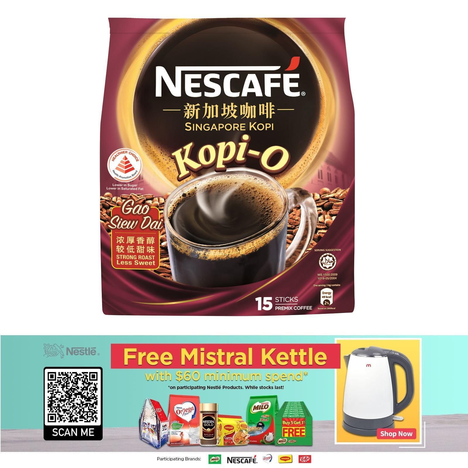 NESCAFE Singapore Kopi - Kopi O Gsd 15S X 14 G