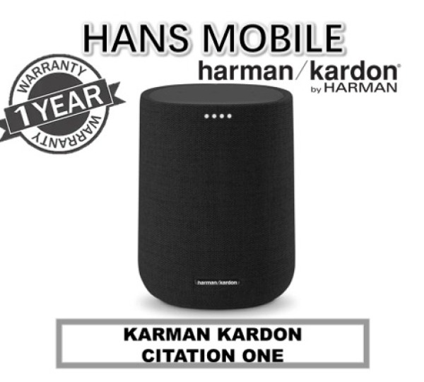 HARMAN KARDON CITATION ONE BLUETOOTH AND GOOGLE ASSISTANT SPEAKER - HANS MOBILE - 1 YEAR OFFICIAL WARRANTY Singapore