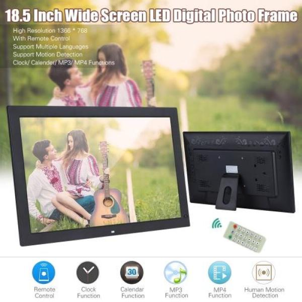 18.5 Wide Screen LED Digital Photo Frame Digital Album