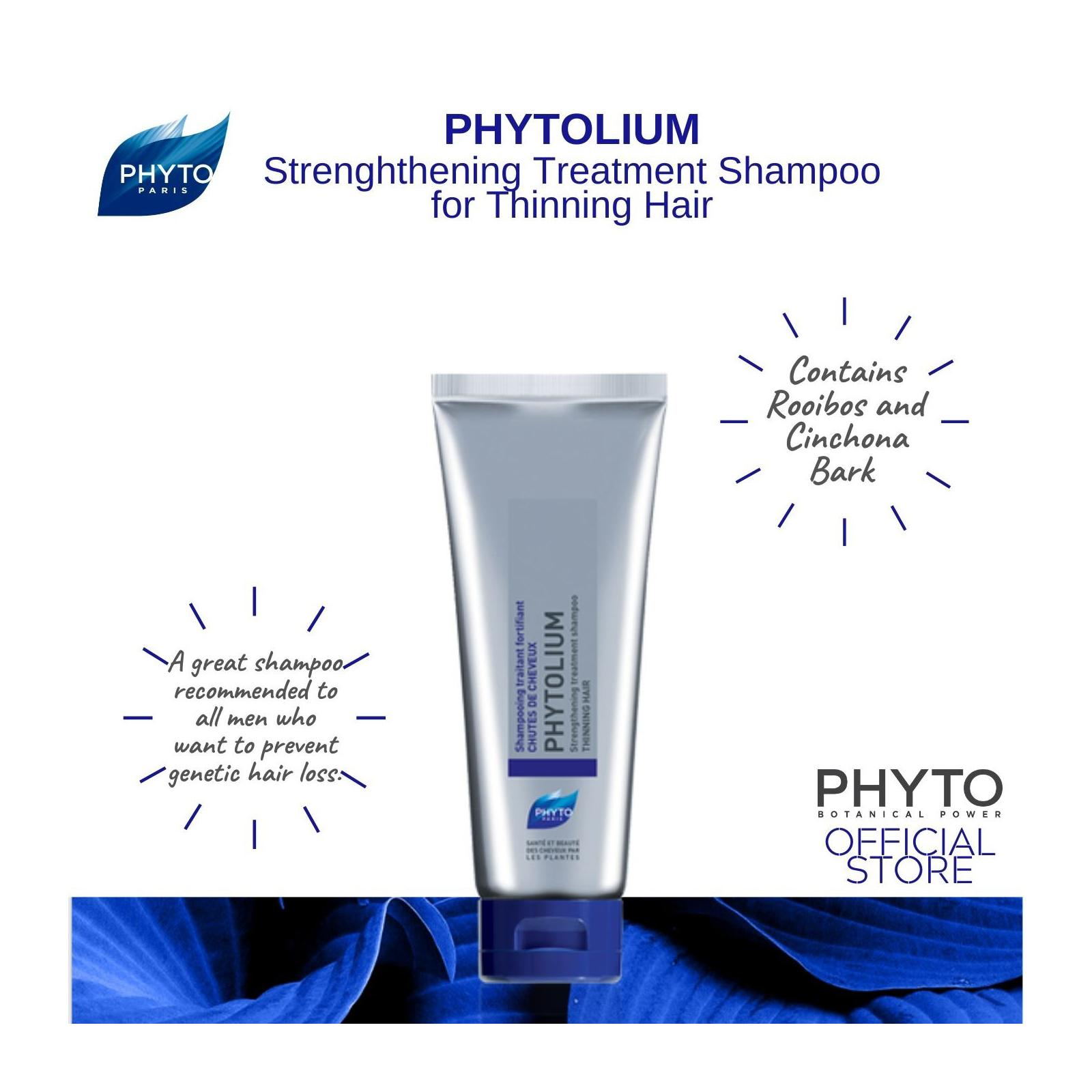Phyto Phytolium Strengthening Hair Loss Treatment Shampoo