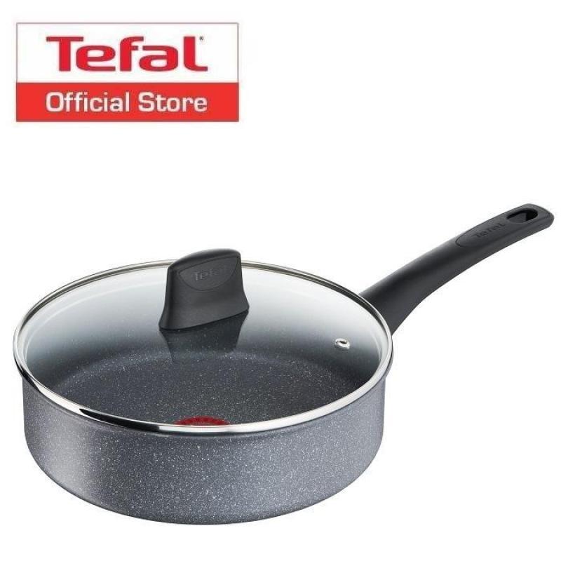 Tefal Chefs Delight Stone Sautepan 24cm w/lid G12232 Singapore