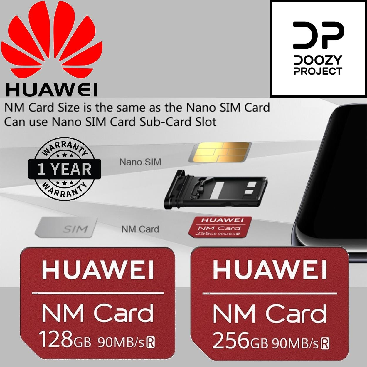 Huawei Nano Memory card NM card / 90MB/s 128GB/256GB Local 1 Year Warranty,  Suitable for Huawei Mate 20, Mate 20 Pro, Mate 20 X