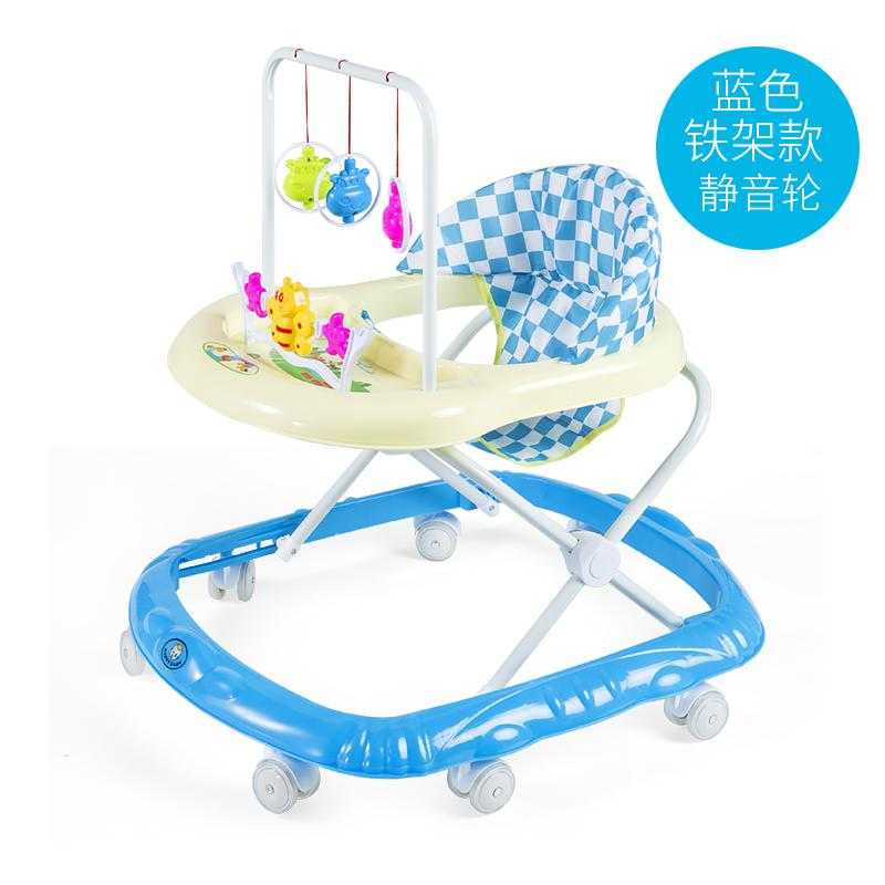 Infant Child Baby Walker 6 7 18 Months Baby Anti Rollover Multi Functional Foldable With Music Line Cart