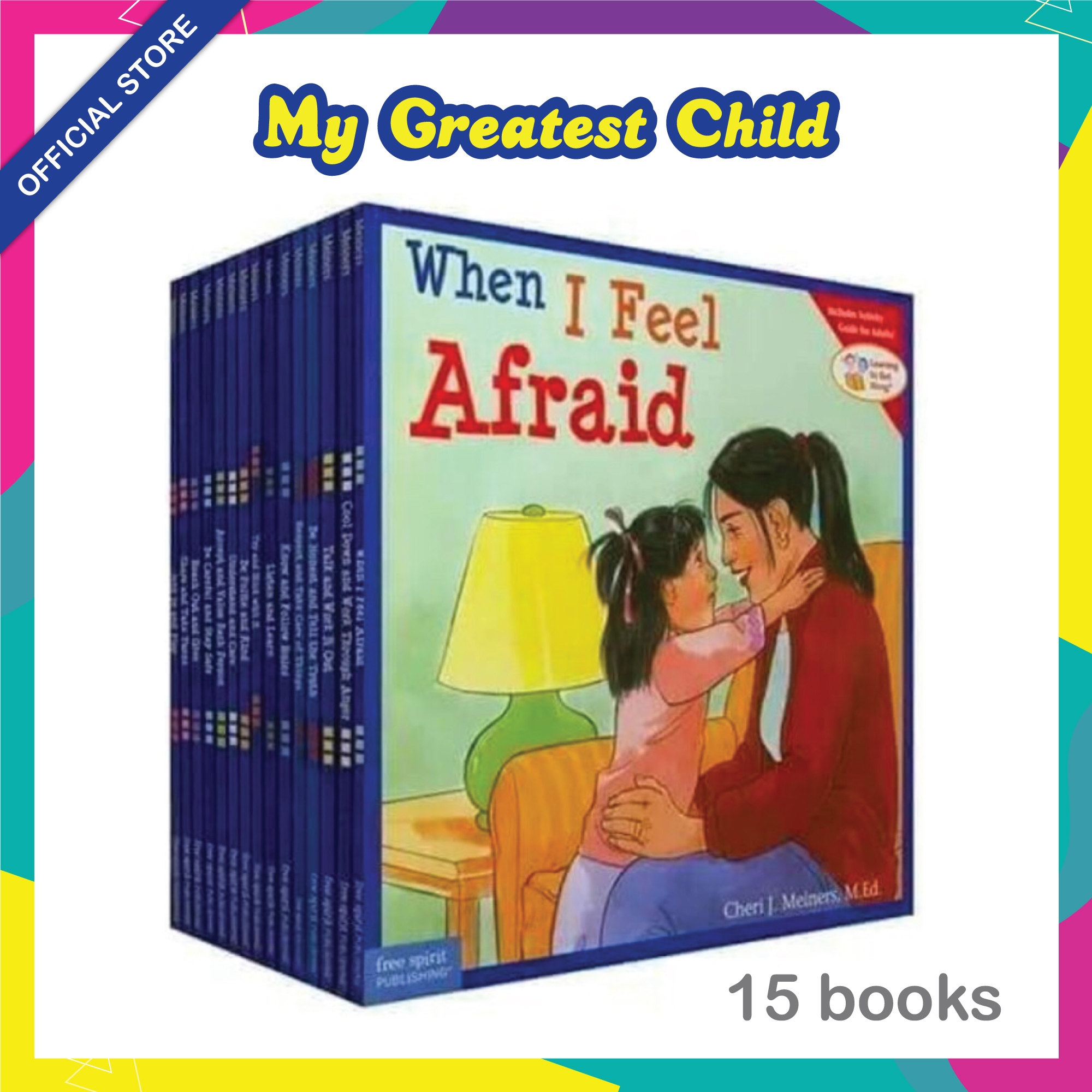 15 Books/paperback Moral set Learning to Get Along series by Cheri J. Meiners Children Book 4-8 years old imported from UK