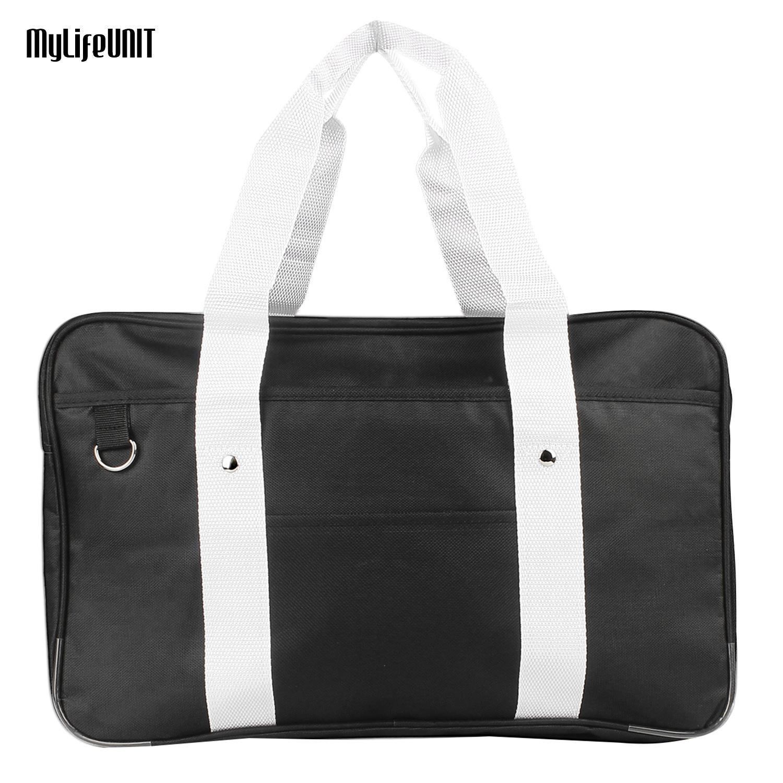 MyLifeUNIT Japanese School Bag, Horizontal Anime High School Bag for Cosplay (Black) - intl