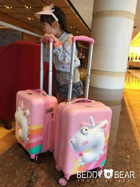 Korea Beddybear Kids/Children Luggage
