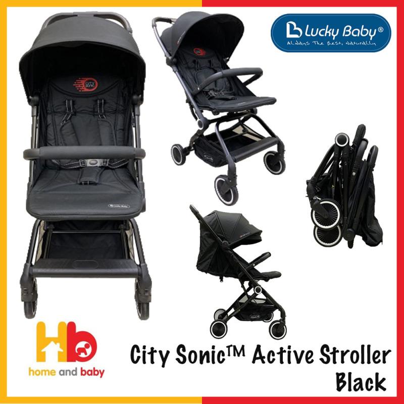 City Sonic™ Active Stroller - Black Singapore