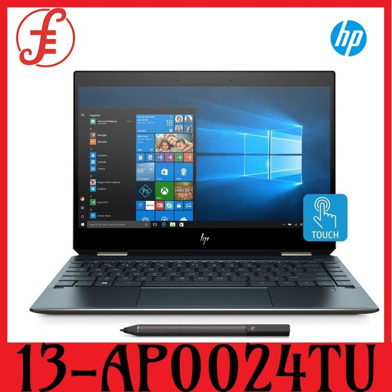 HP 13-AP0024TU x360 13-AP0024TU (5KG01PA) i5-8265U 13.3 In TOUCH SCREEN 8GB RAM 512GB SSD Convertible Laptop (13-AP0024TU)