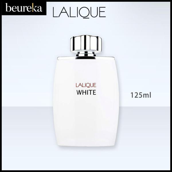 Buy Lalique White M EDT 125ml - Beureka [Luxury Beauty (Perfume) - Fragrances for Men  Eau de Toilette  Brand New  Original Packaging  100% Authentic] Singapore