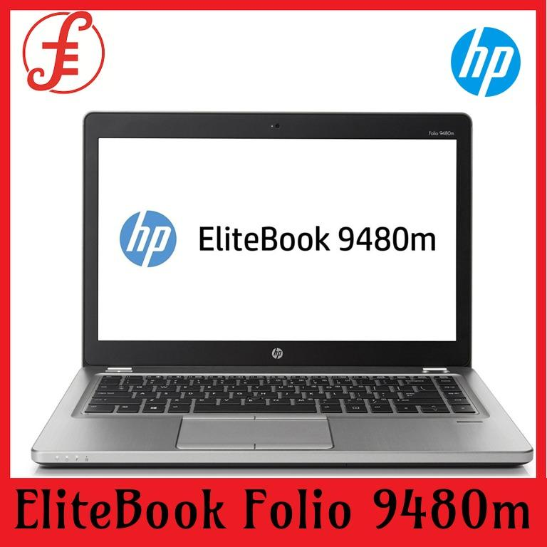 HP EliteBook Folio 9480m 14INCH Core i7 4600U 4GB 180GB SSD Windows 10 Pro (REFURBISHED) (ELITEBOOK FOLIO 9480M)