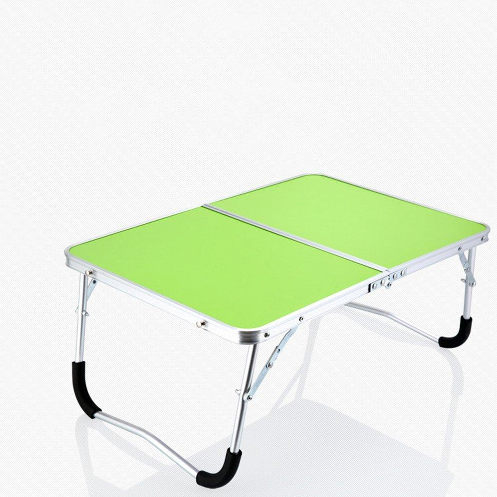 G-PADDY Laptop Double-Folding Computer Table Folding Computer Desk PC Laptop Table Writing Workstation Home Office Furniture