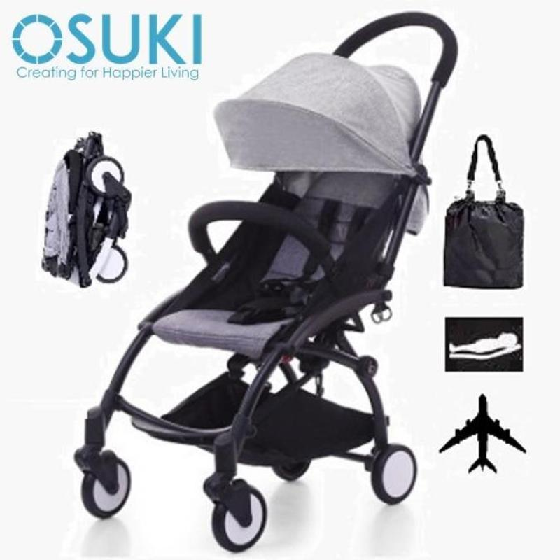 OSUKI Compatto Light Weight Stroller (FREE Bag) Compact Fold Baby Stroller Singapore