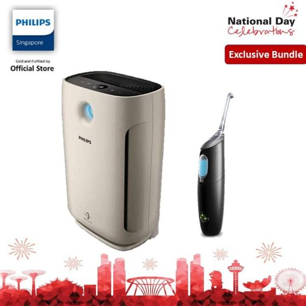 [EXCLUSIVE BUNDLE] Philips Air Purifier  AC2882/30 With Airfloss Ultra HX8431 Singapore