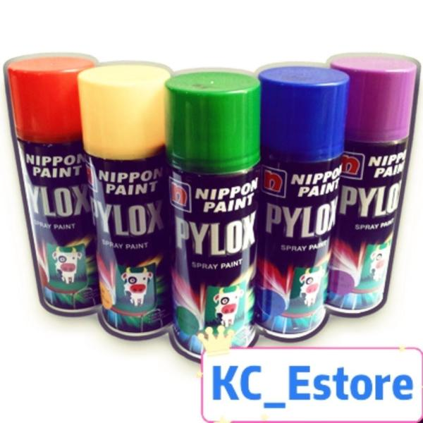 Nippon Spray Paint Pylox (Solid Colors)