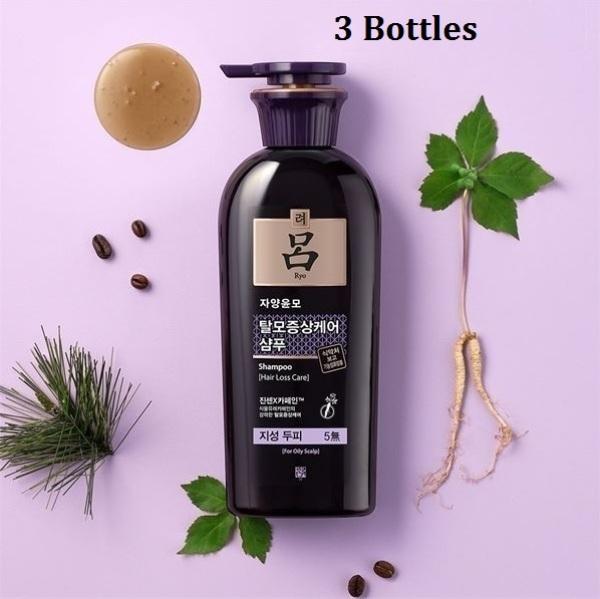 Buy Ryo Korea Anti-Hair Loss Oily Scalp Shampoo 400ml (3 Bottles); Ginseng Hair Care for Men & Women.Prevent Hair Loss and strengthen hair roots. Smoove1 Singapore
