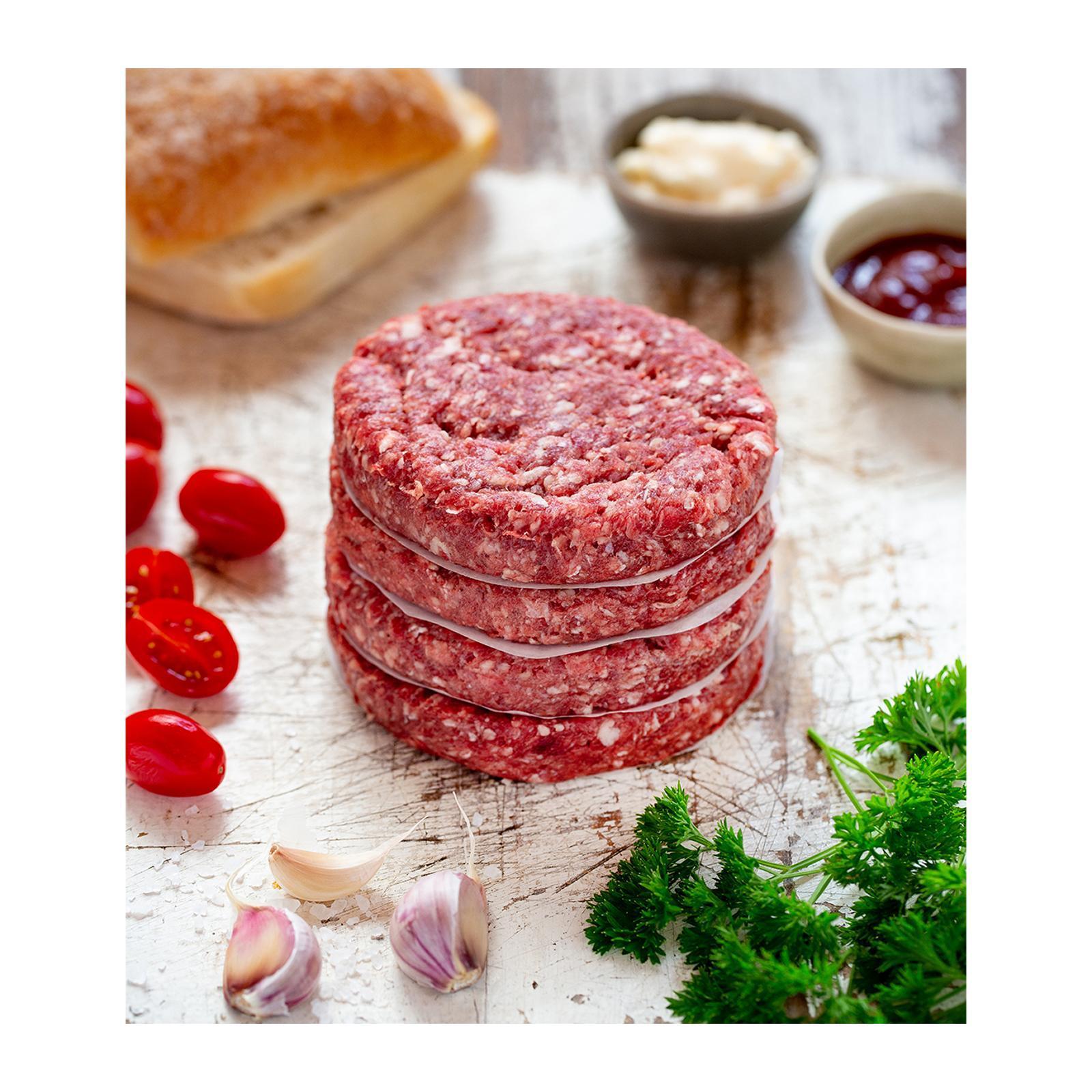 Sasha's Fine Foods New Zealand Grass-Fed Beef Burger - Frozen