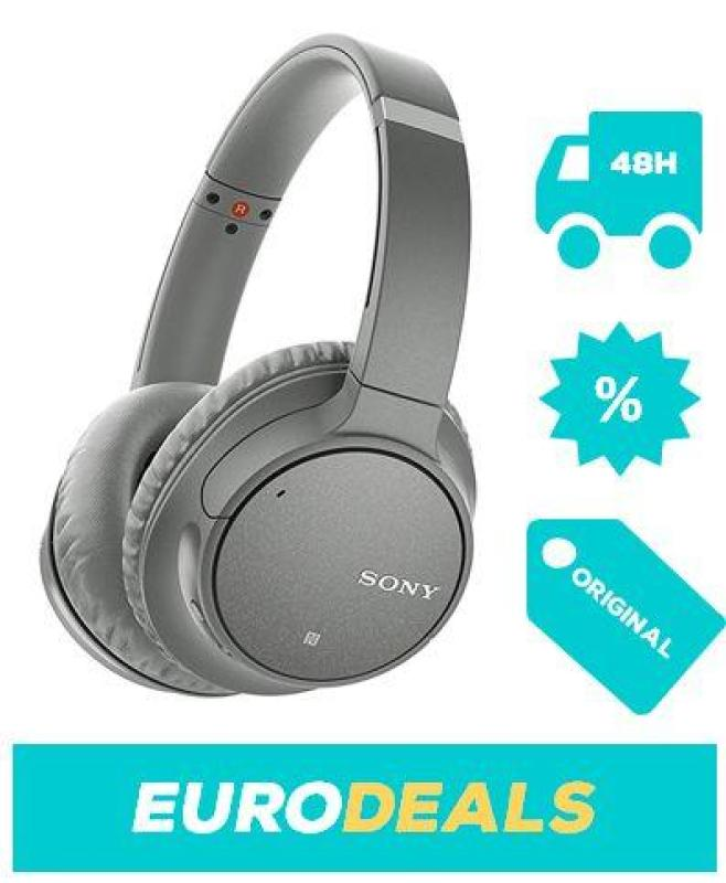 Sony WH-CH700N Wireless Bluetooth Noise Cancelling Headphones - Grey Singapore