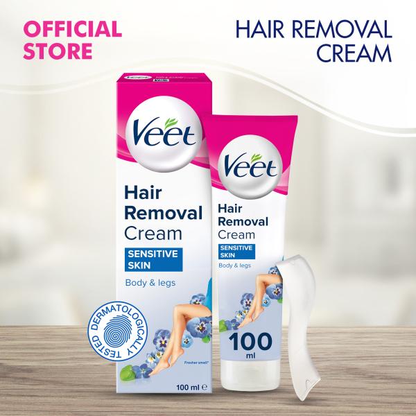 Buy Veet Hair Removal Cream for Sensitive Skin 100ml Singapore