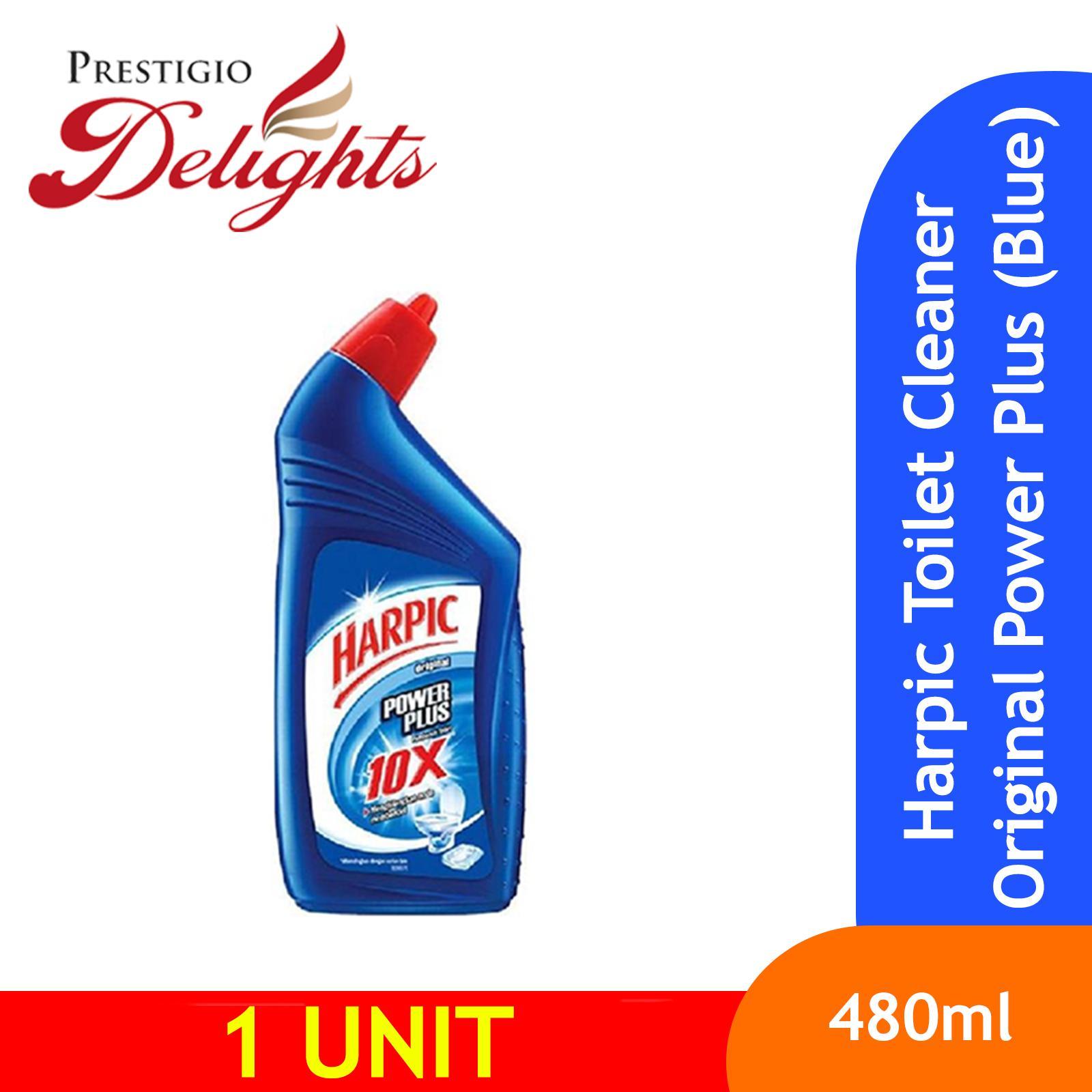 Harpic Toilet Cleaner Original Power Plus (blue) 450ml By Prestigio Delights.