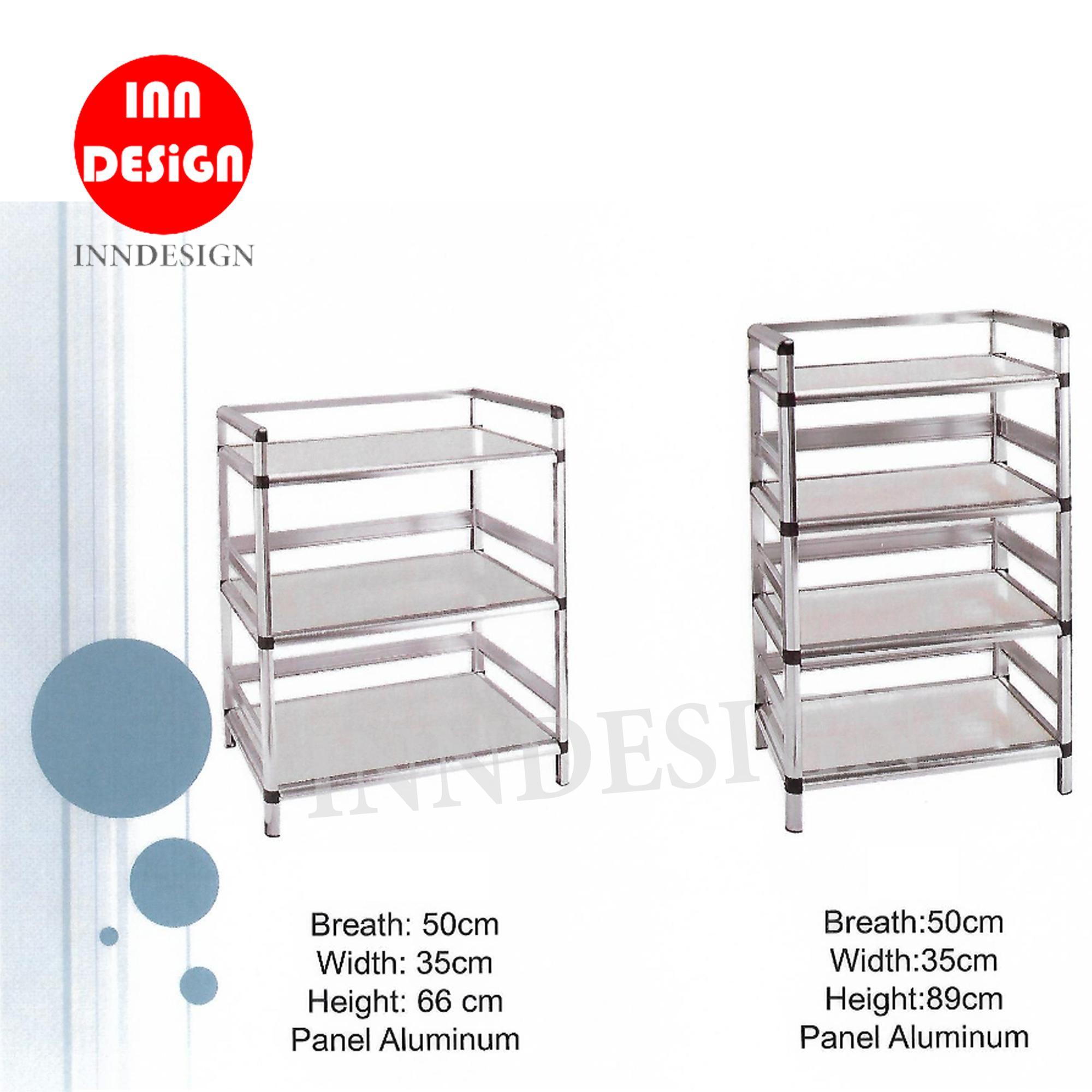 Kitchen Cabinet / Panel Aluminium / Kitchen Organizer (3 / 4 Tiers)