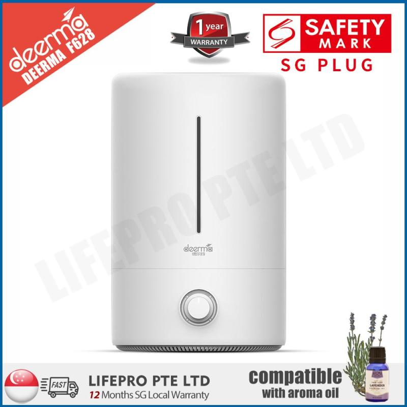 【LifePro Special】DEERMA F628 ULTRASONIC AIR HUMIDIFIER/ 5L LARGE CAPACITY/ AROMA DIFFUSER/ SG Plug/ Up to 12-month SG Warranty Singapore