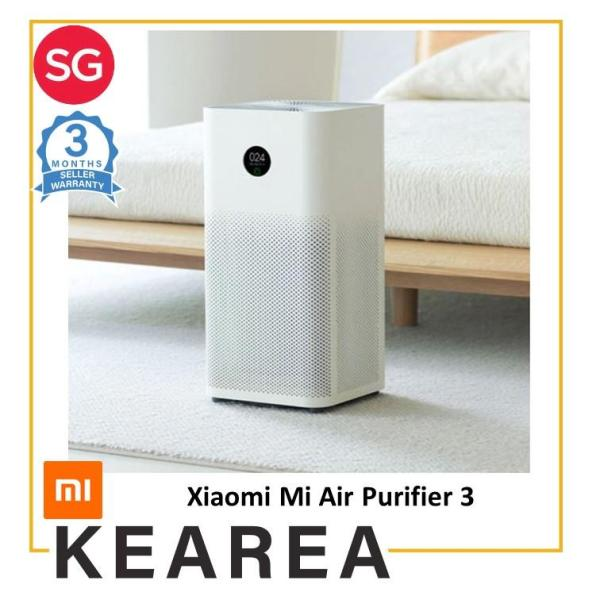 Xiaomi Mi Air Purifier 3 Mijia Formaldehyde Cleanner Air Freshener Smoke Detector Hepa Filter App Remote Control Singapore