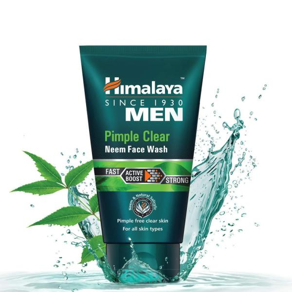 Buy Himalaya Men Pimple Clear Neem Face Wash, 100ml For All Skin Types Singapore