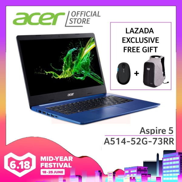 [PRE-ORDER] Acer Aspire 5 A514-52G-73RR laptop with LATEST 10th gen Intel i7-10510U processor and 12GB RAM [SHIP OUT EARLY JULY]