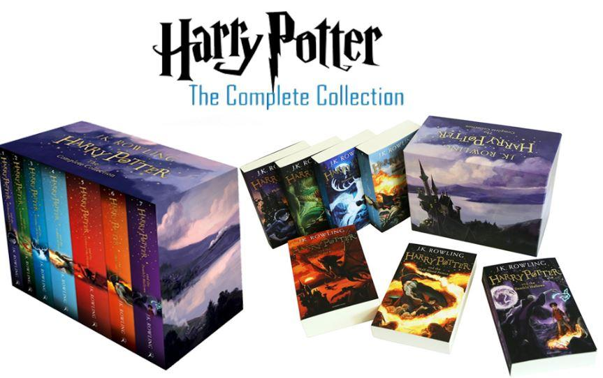 [7 Books] - The Complete Harry Potter Collection - JK Rowling