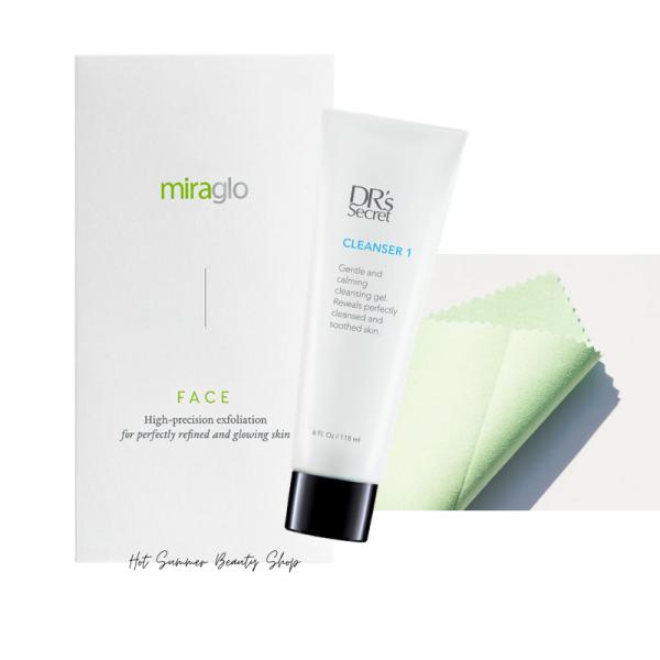 Buy DR's Secret Cleanser & Exfoliator (Miraglo) Set) ❤️Local Sg stock❤️ Singapore