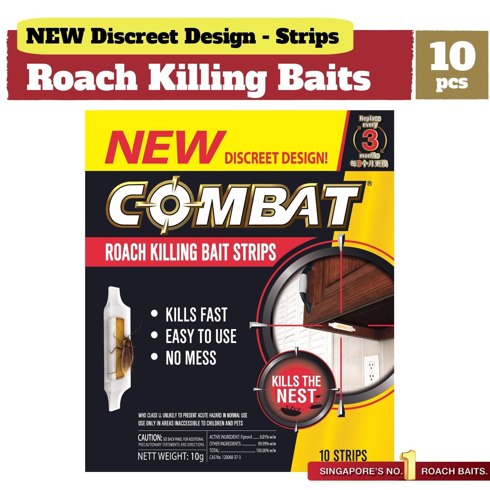 Combat Roach Killing Bait Strips By Redmart.