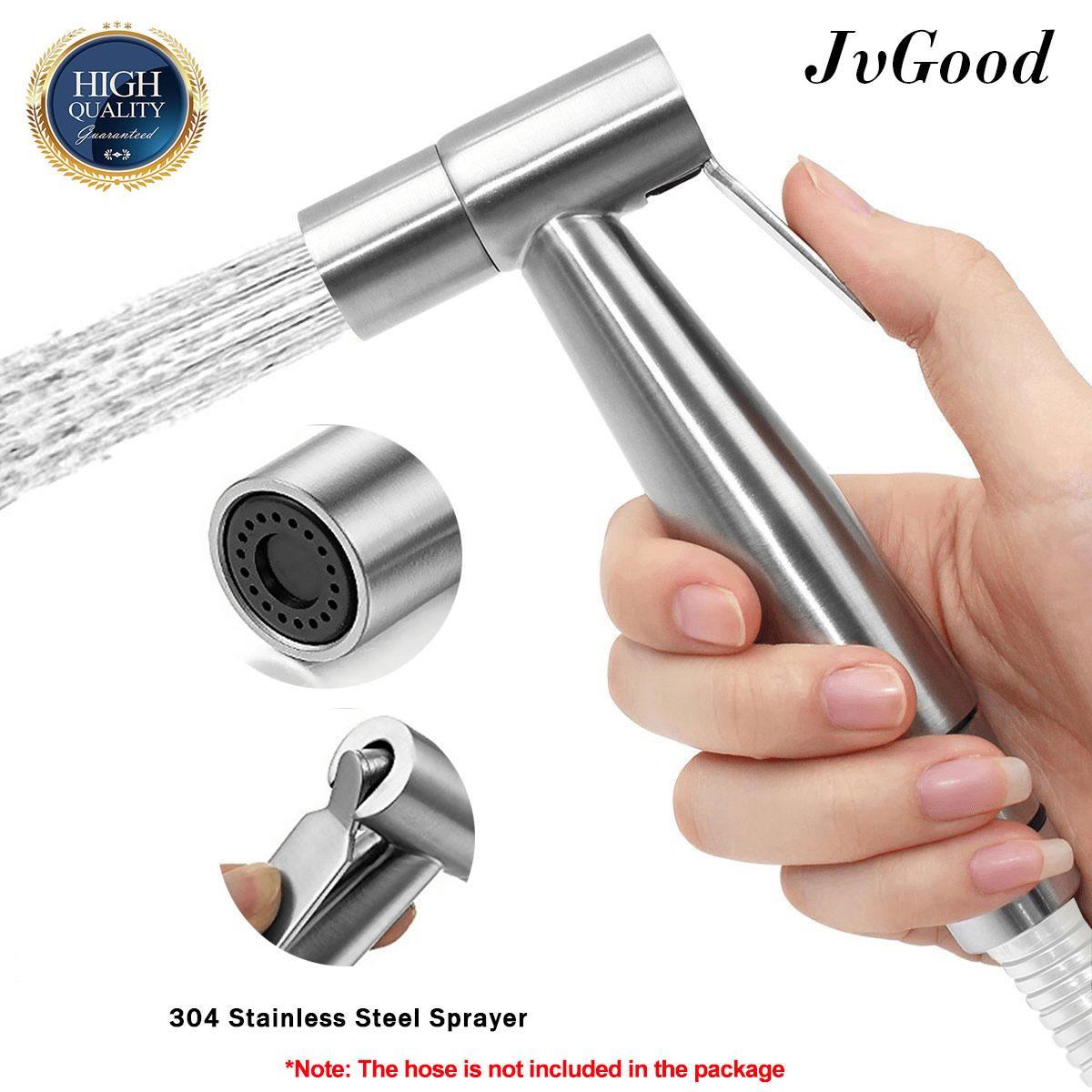 Jvgood Toilet Bidet Sprayer Bathroom Washing Shower Handheld Water Spray 304 Stainless Steel Toilet Bidet Rinse By Jvgood.