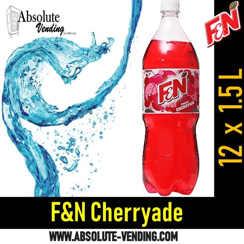 F&n Cherryade (1.5l Bottle) By Absolutevending-Drinkrus.