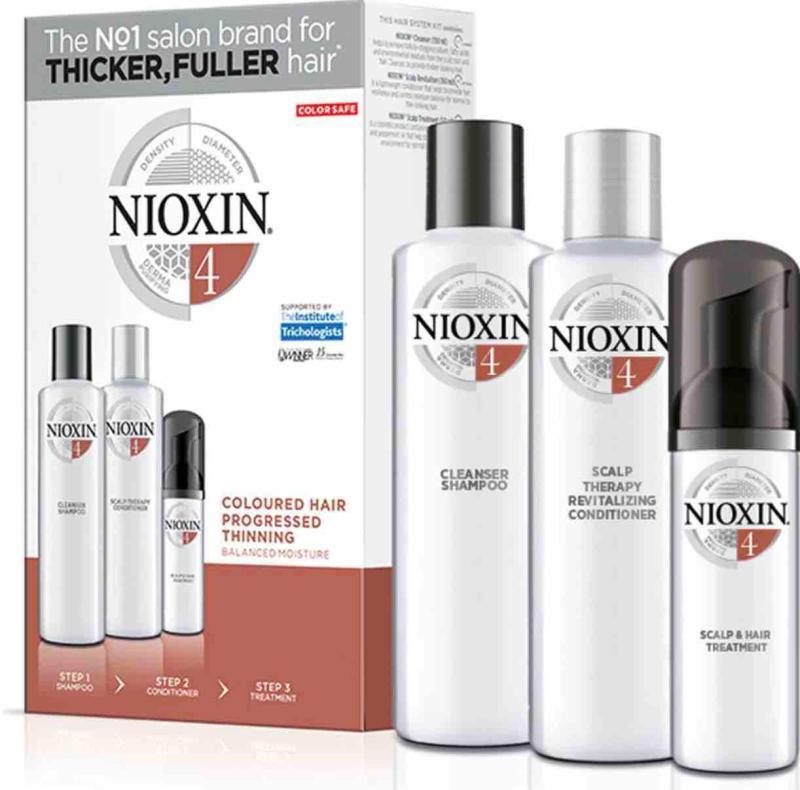 Buy NIOXIN 3 PART Loyalty Kit SYSTEM NO.4 Singapore