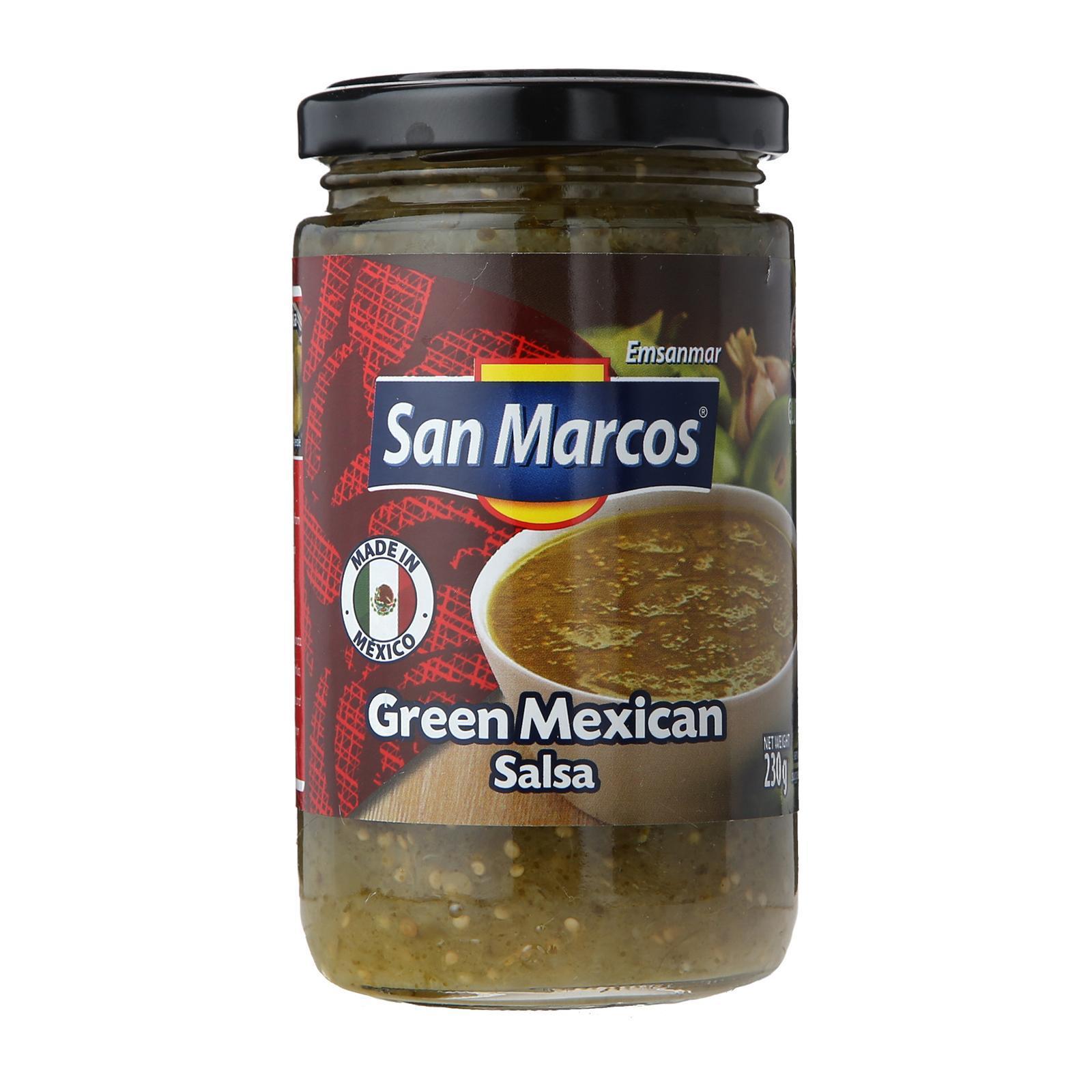 San Marcos Green Mexican Salsa