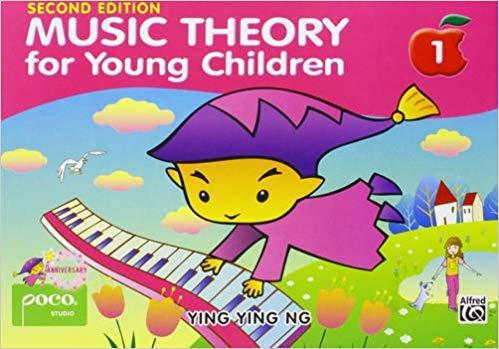Music Theory For Young Children Book One By Ying Ying Ng - Piano Book - Music Book By Absolute Piano.