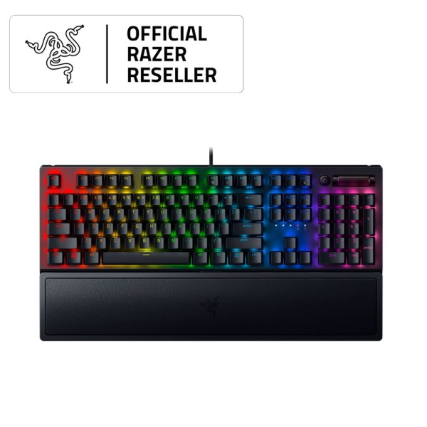 Razer BlackWidow V3 (Green Switch) - Mechanical Gaming Keyboard with Razer Chroma RGB Singapore
